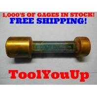 2.081 & 2.082 SMOOTH PIN PLUG GAGE 2.0937 UNDERSIZE MECCOR MACHINE SHOP TOOLING
