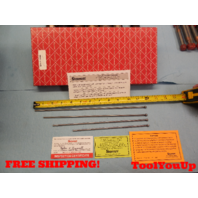4 PCS STARRETT REPLACEMENT RODS FOR DEPTH MICROMETER ? MACHINE SHOP TOOLING