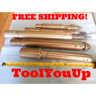 LOT OF END MILL & DRILL EXTENSIONS FOR CNC OR BORING MILL MACHINE SHOP TOOLING