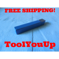 "MSC 02635480 3/4"" X 3/4"" SHANK SQUARE NOSE SINGLE POINT LATHE TOOL BIT MACHINIST"
