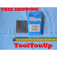 11 PCS NEW JOBBER LENGTH SPIRAL #14 DIA BRITE FINISH DRILL BIT USA MADE TOOLS