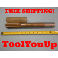 "1.3795 HS USA MADE REAMER 1 1/4"" DIA SHANK 1.3750 +.0045 OVERSIZE MACHINIST TOOL"