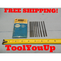 10 PCS NEW.161 #20 DIA FAST SPIRAL DRILL BIT HS USA MADE MACHINE SHOP TOOLING