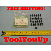 "25 PCS NEW BRASS TIP 1/4 - 28 X 3/8 "" LONG HEX SOCKET SET SCREWS MACHINIST TOOL"