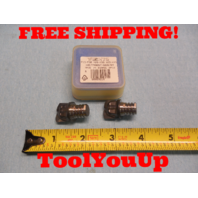 NEW ISCAR 2 PCS 20mm DIA CARBIDE MILLING TIP MM FF200R2.0 - 2T12 908 CNC MILL