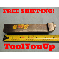 """T - MAXSDJCL 163D 1"""" SQUARE SHANK INDEXABLE GENERAL TURNING TOOL MACHINE SHOP"""
