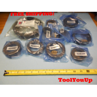 LOT OF 10 NEW SHAFT COLLAR CLAMPS MANY SIZES MACHINE SHOP TOOLING MACHINIST