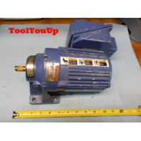 SUMITOMO SM CYCLO CNHMS01 - 6060YA - 29 GEAR MOTOR 1/8 HP MACHINE SHOP TOOLING