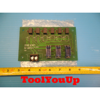 CROWN MEMORY AXIS EXCHANGE RELAY BOARD PCB 100021 REV A MCD ELECTRONICS