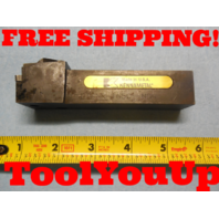 """KENNAMTEAL DTFNR 165C ND4 INDEXABLE TURNING TOOL HOLDER 1"""" DIA SHANK MACHINESHOP"""