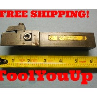 """KENNAMETAL MODULAR INDEXABLE TOOL HOLDER NGDHR 16 1"""" SQUARE SHANK GROOVING CUT"""