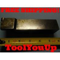 SANDVIK SRSCR 20 4D TURNING TOOL 1 1/4 SQUARE SHANK ROUND INSERT MACHINE SHOP