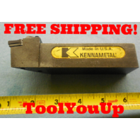 KENNAMETAL DVJNR 203D 1 1/4 SQUARE SHANK INDEXABLE TOOL HOLDER MACHINESHOP TOOLS