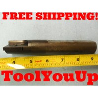 """MTSR1240M30 INDEXABLE THREAD MILLING TOOL HOLDER END MILL 1"""" SHANK COOLANT THRU"""