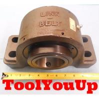 NEW LINK BELT PB22443FH PILLOW BLOCK 4 BOLT 2 11/16 INCH BORE 2.6875 MACHINESHOP