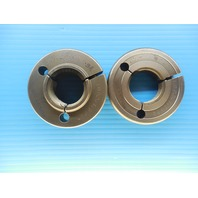1 1/2 6 UNC 3A THREAD RING GAGE 1.5 GO NO GO P.D.'S = 1.3917 & 1.3856