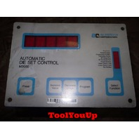 AUTOTECH CORP. AUTOMATIC DIE SET CONTROL SAC M2000 010 MACHINE SHOP TOOLING