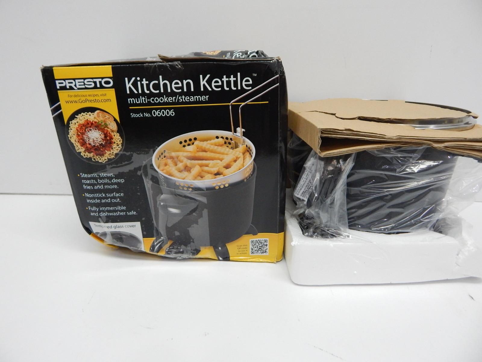 Presto 06006 Kitchen Kettle Multi Cooker Steamer Manual