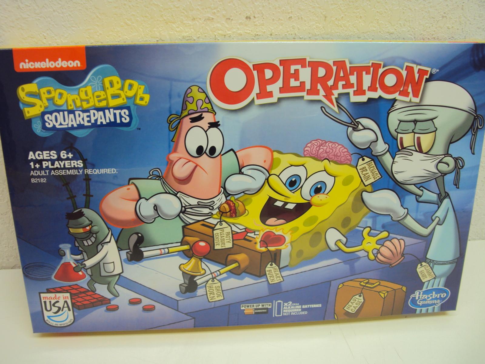 Nickelodeon SpongeBob SquarePants Operation Game | eBay