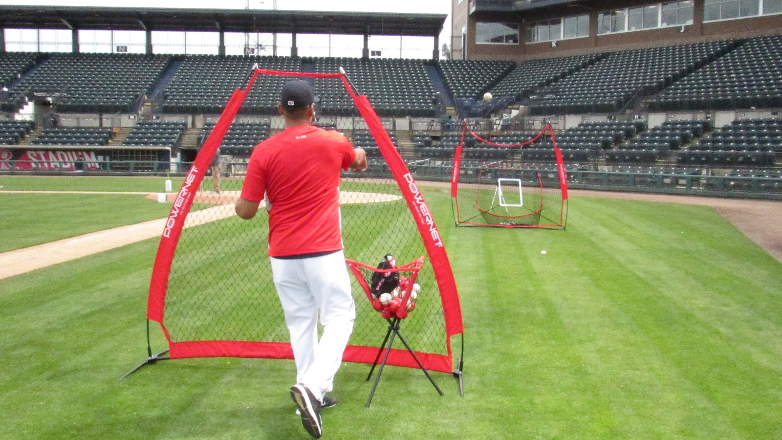 PowerNet 1002 A-Frame Portable Baseball Softball Pitching Screen ...