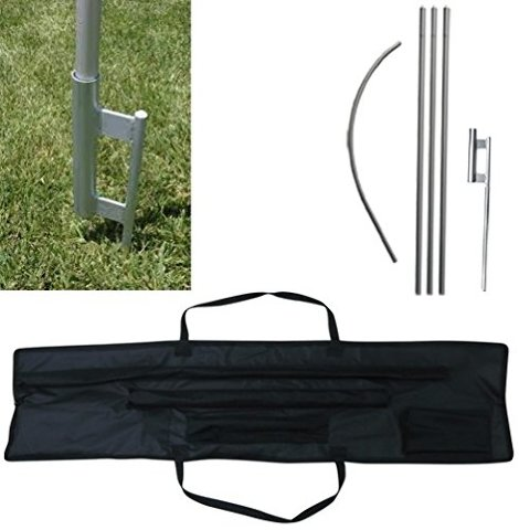 Tent Share SFPGSCC Commerical Swooper Flag Pole Ground Spike u0026 Carrying Case | 2ndChanceSales  sc 1 st  2ndChanceSales & Tent Share SFPGSCC Commerical Swooper Flag Pole Ground Spike ...