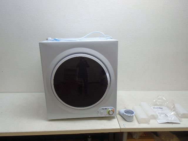 Panda pan760sf portable compact apartment stainless steel tumble dryer 110v ebay - Tumble dryer for small space pict ...