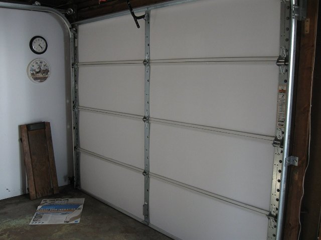 Matador garage door insulation kit for 8 39 tall door up to for Tall garage doors