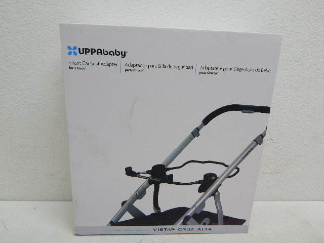 uppababy 0156 infant car seat adapter for chicco for vista 2015 later all cruz ebay. Black Bedroom Furniture Sets. Home Design Ideas