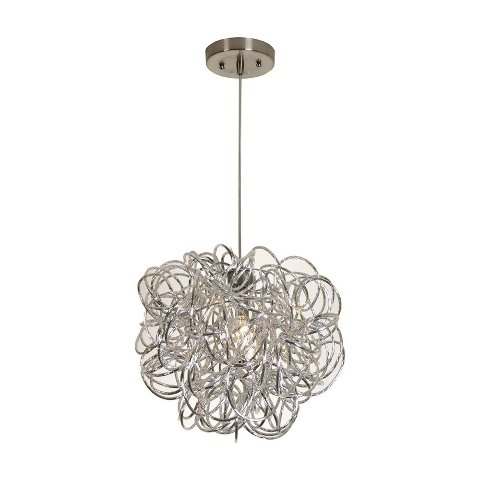 Trend Lighting Tp6825 Mingle Pendant Light Medium Aluminum Open Box
