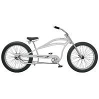 "Micargi SEATTLE-WHI 26"" Stretch Oversized Bike Bicycle Retro Fat Tire, White"