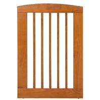 "BarkWood Pets Freestanding Wood Pet Gate Extension Panel, 24x36""H, Chestnut"