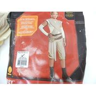 Star Wars: The Force Awakens Child's Deluxe Rey Costume, Medium MINOR DIRT