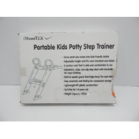GPCT Portable 3-In-1 Kids Toddlers Potty Training Seat W/ Step Stool BOX DAMAGE