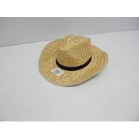 U.S. Toy H348 Rolled Up Straw Cowboy Hat