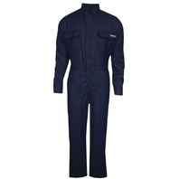 National Safety Apparel Women's Tecgen Select FR Coverall, XL Long, Navy