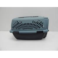 AspenPet 531411 Petmate Transorter Kennel Cage, 15-20lbs, Storm Gray/Black