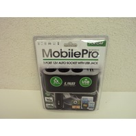 MobilePro by Sentry Auto Pro Triple Car Plug with 1 USB Port