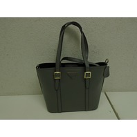 Fineplus New Fashion Classic Leather Picture Package Tote Bag Purse Handbag Grey