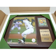 "MLB 1215SGRAY Oakland Athletics Sonny Gray Player Plaque, 12""x15"""