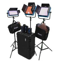 Dracast DR-ENGK-BV ENG Kit BV, LED Light Kit w/ Sony V Mount Bat (Blue) BOX DMG