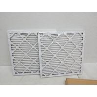 Lysol 40001-202-0033 18x18x1 Dust & Pollen Air Filter, 2pk (BEND IN EACH CORNER)