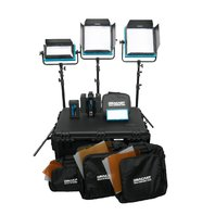 Dracast DRPL-ENG-D-CK ENG Plus Daylight 4-Light Complete Kit (Blue) BOX DAMAGE