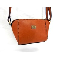 Fashion Handbag HS9492B,  Women's Mini Cross Body Bag Tote Purse, Tan