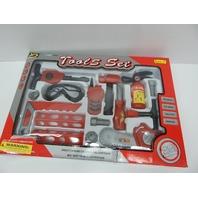 Kole KI-OF395 Play Tool Set, Large DISTRESSED PACKAGE