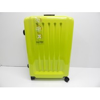 Mia Toro Italy M1202-GRN Moderno Lucido Hardside 3pc Luggage Suitcase, Green