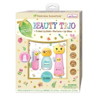 Hot Focus Natural Signature 115EM Beauty Trio Balm Perfume & Gloss Emoji