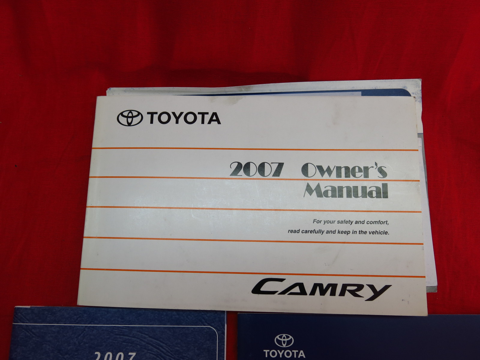 2007 toyota camry owners manual guide book ebay. Black Bedroom Furniture Sets. Home Design Ideas