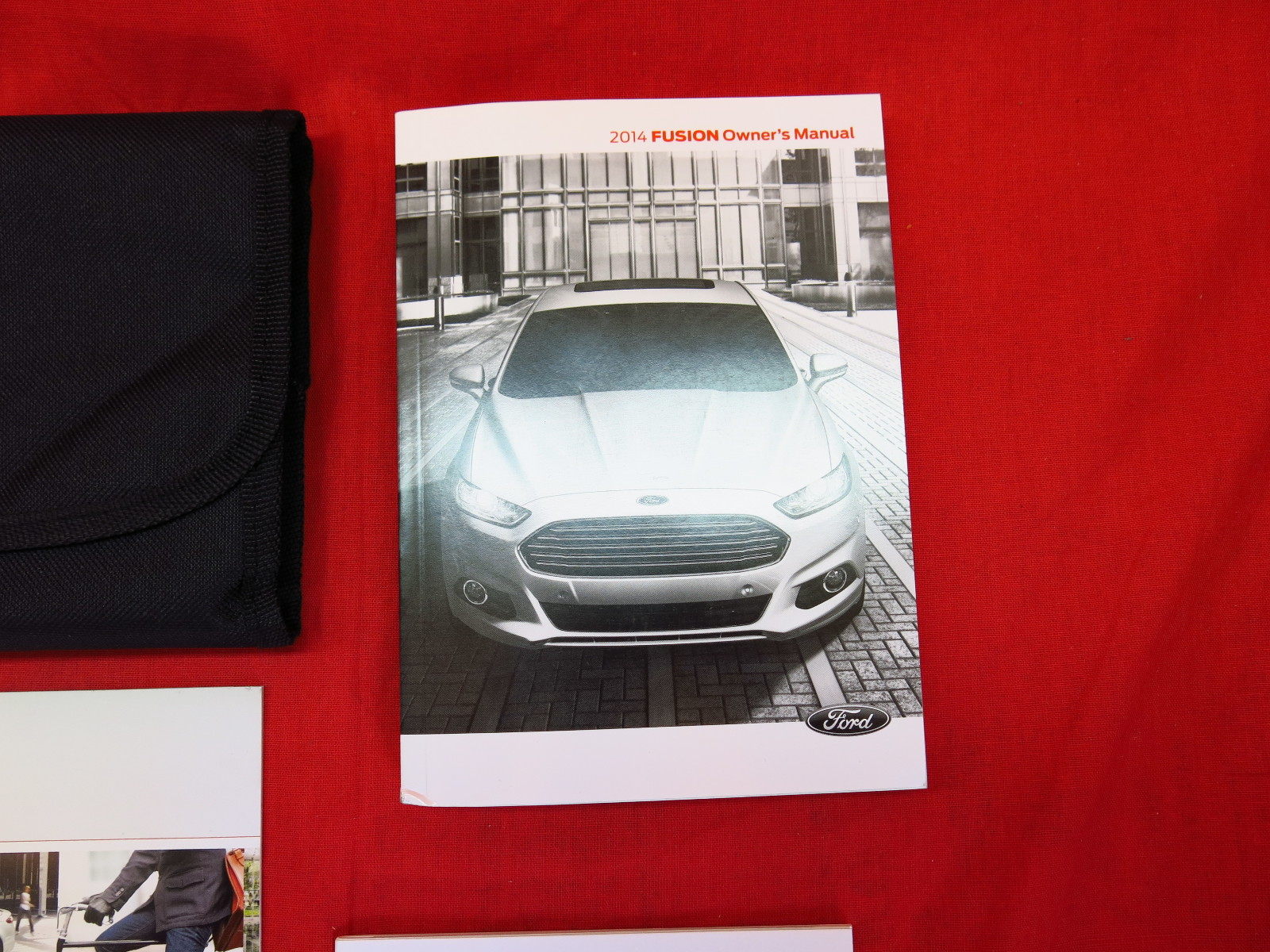 ford fusion owners manual  case book set ebay