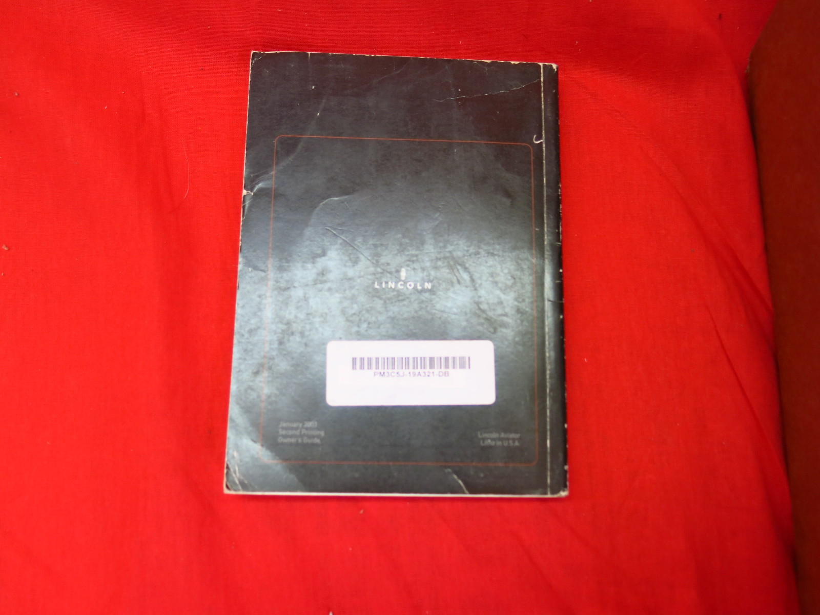 2003 lincoln aviator owners manual. Black Bedroom Furniture Sets. Home Design Ideas