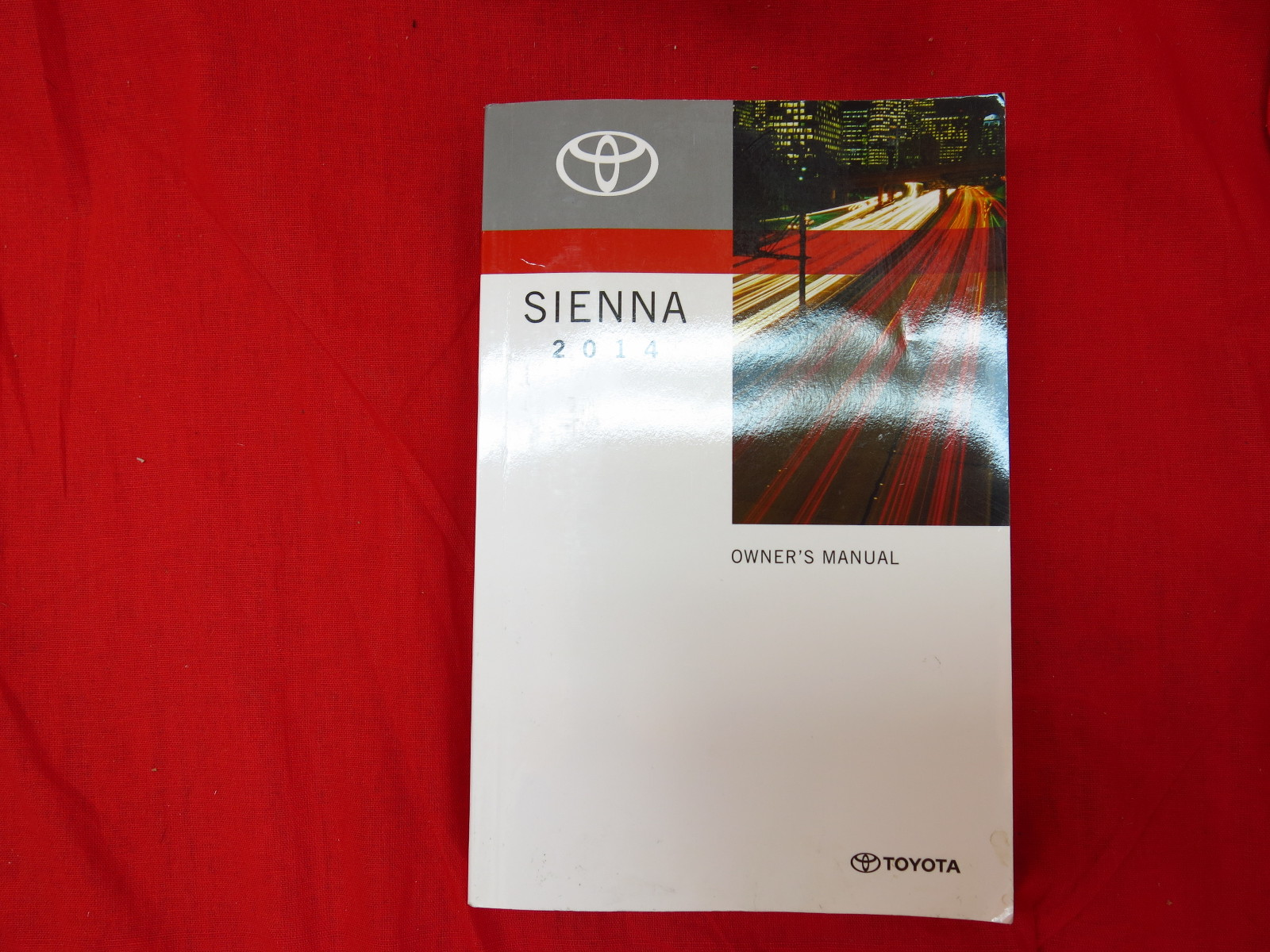 2014 toyota sienna owners manual guide book ebay. Black Bedroom Furniture Sets. Home Design Ideas